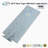 2017 nuovo tipo indicatore luminoso solare tutto compreso 15W del giardino del LED