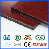 Panneau composé en aluminium d'enduit de la qualité 4mm PVDF, panneau composé en plastique en aluminium, 4mm Acm