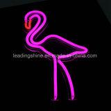 Lampe au néon de flamant pour la décoration à la maison de cérémonie de vacances