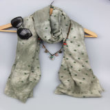 Шарф печати пятна вспомогательного оборудования способа, шали способа повелительниц, шарф зимы