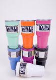 O pó 2016 colorido por atacado revestiu 304 copos 30oz do Yeti do Tumbler do Rambler do Yeti do aço inoxidável
