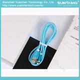 Carga rápida del cable del USB del papel de aluminio para el iPhone