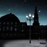 Hot Sale LED sans câble PIR paysage solaire éclairage basse tension pour Square
