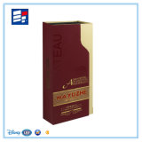 Boîte de empaquetage personnalisée par OEM à vin de papier de luxe par fabriqué à la main