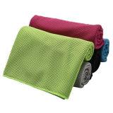 Firmenzeichen kundenspezifisches Bambus-Polyester-kühles Gewebe-abkühlendes Tuch