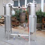 Multi Stadiums-Edelstahl-Wasser-Filtration-Duplex-Ähnlichkeits-Beutel-Kassetten-Filtergehäuse