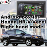 Android поверхность стыка системы навигации GPS видео- для righthand привода Хонда hr-V Vezel, касатьется Android соединению зеркала вид сзади навигации системы