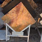 高品質の磨かれた艶をかけられた金の大理石の平板/Tile