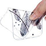 Caja ultra fina transparente del teléfono de TPU para el iPhone 7 más 6