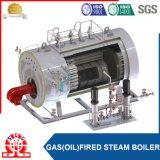 ガス燃焼の蒸気ボイラ