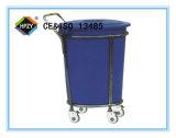 (B-46) Вагонетка Contaminent нержавеющей стали с пластичным ведром