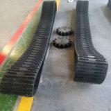 Système de voie en caoutchouc, Chenille en caoutchouc Qatv-320 pour la neige, la boue et le sable Météo