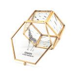 Regalos de boda de cristal del rectángulo de joyería del oro Jb-1077