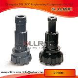 SD6 152mm, SD6 165mm, SD6 178mm, bits de SD6 203mm DTH