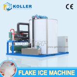 Grande capacidade de Koller 10 de Dya do floco toneladas de máquina de gelo para peixes Factpry (KP100)