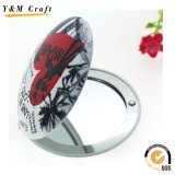昇進のギフトのための2016陶磁器の折る革コンパクトで装飾的なミラー