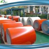 A bobina de aço das folhas de metal PPGI da coloração/Prepainted a chapa de aço galvanizada