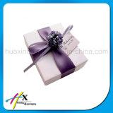 Rectángulo de joyería de papel de encargo popular con los cajones