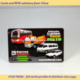 Impresso cartão de tarja magnética do PVC para o cartão de combustível