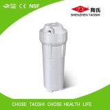Cárter del filtro portable de agua en sistema del RO