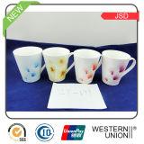 新しい骨灰磁器のコーヒー・マグ(JSD115-091-004)