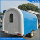 Ys-Fb200j alimento blu e bianco di 3.25m trasporta il rimorchio su autocarro mobile dell'alimento