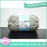 Barato caliente de lana del calcetín teñido de tela de lujo hilo de tejer