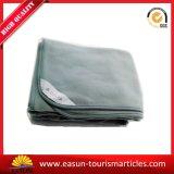 100%のアクリル系材料が付いている土カラー毛布のジャカードによって編まれる航空会社毛布