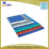Panneau ondulé de tuile de feuille de toiture de la couche PVC+PP+Pet de Single+Multi faisant la machine