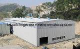 Edificio prefabricado del almacén de la fábrica/del puente/del taller/del Carport/de la exposición/de la estructura de acero del hotel/del chalet