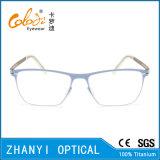 Bunter leichter Voll-Rahmen Titanbrille Eyewear optische Glas-Rahmen (9108)