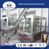 Automatische 3 in 1 Glasflaschen-Bier-Füllmaschine
