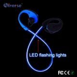 Шлемофоны радиотелеграфа Earbuds наушников СИД проблескивая Bluetooth водоустойчивые
