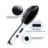 Pelo de Detangle que labra el cepillo eléctrico del vapor del pelo de las herramientas que endereza los hierros