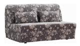 Couch-Sofa mit Bett mit Dditional Textilverpackung und allem Metallrahmen