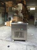 Máquina fritada do gelado de plano dobro da fonte da fábrica bandeja comercial