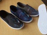 De lichte Misstap van de Manier op de Toevallige Mensen van het Canvas Dame Shoes