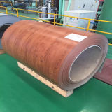 Деревянная Prepainted гальванизированная стальная катушка