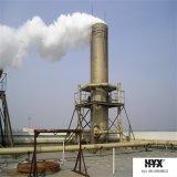 Duto da desinfeção da fibra de vidro ou duto do tratamento da água do desperdício