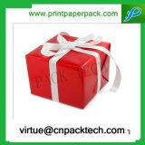 Коробка подарка полного цвета высокого качества чувствительная подгонянная с тесемкой