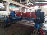 大型のガントリータイプ4000*8000mmのplasma&flameの金属CNCの打抜き機