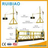 Plate-forme de travail 800kg suspendue aérienne de Zlp800 7.5m pour le nettoyage de construction