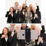 Ausdehnbarer Selfie Stock mit Fernblendenverschluß für Smartphones