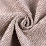 Шевронная ткань для одежды, ткань шерстей одежды из твида тканья, ткань одежды