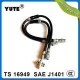 Haut boyau en caoutchouc de frein hydraulique de boyau de la performance Saej1401