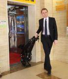 旅行のための電気バイクを折る2017年の中国の新しい500W都市