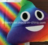견면 벨벳 장난감 고물 Emoji 다채로운 장식적인 베개