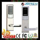 Système électronique autonome de blocage de porte d'hôtel de clé de carte d'IDENTIFICATION RF d'acier inoxydable