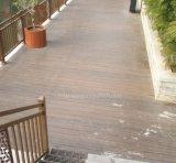 Haltbarer feuerbeständiger WPC HolzDecking der Guangdong-Lieferanten-Qualitäts-