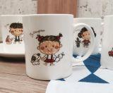 Marchio inciso della tazza di caffè e fornitore di ceramica della tazza della dogana